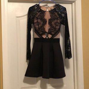 Charlotte Russe lace dress, women's XS